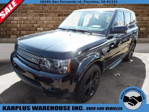 2012 Land Rover Range Rover Sport for sale in Pacoima, CA