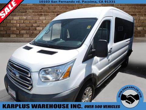 2015 Ford Transit Wagon for sale in Pacoima, CA