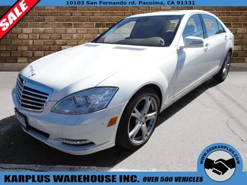 2013 Mercedes-Benz S-Class for sale in Pacoima, CA
