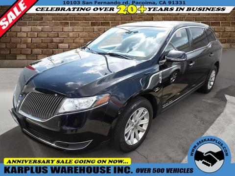 2015 Lincoln MKT Town Car for sale in Pacoima, CA