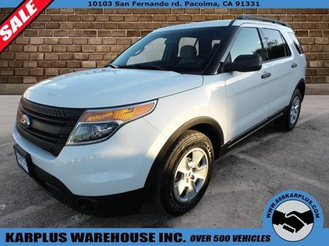 2014 Ford Explorer 105066 Miles miles & Karplus Warehouse - Used Cars - Pacoima CA Dealer markmcfarlin.com