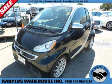 2013 Smart fortwo for sale in Pacoima, CA
