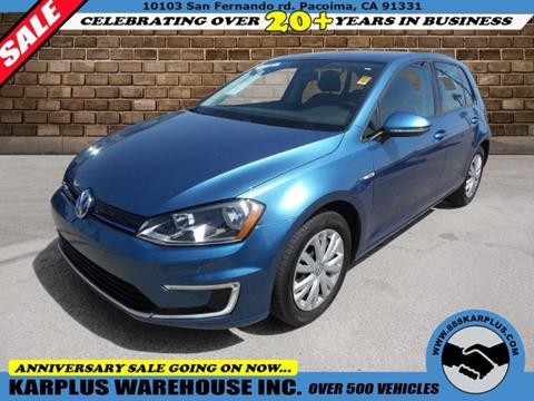 Lexington Volkswagen >> Used Volkswagen E Golf For Sale In Lexington Ky Carsforsale Com