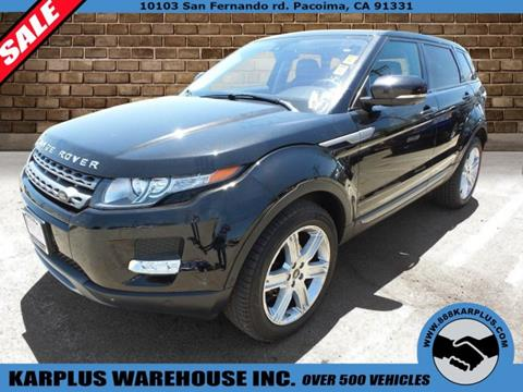 2013 Land Rover Range Rover Evoque for sale in Pacoima, CA