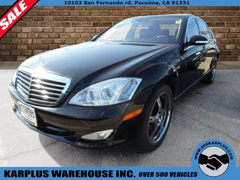2007 Mercedes-Benz S-Class for sale in Pacoima, CA