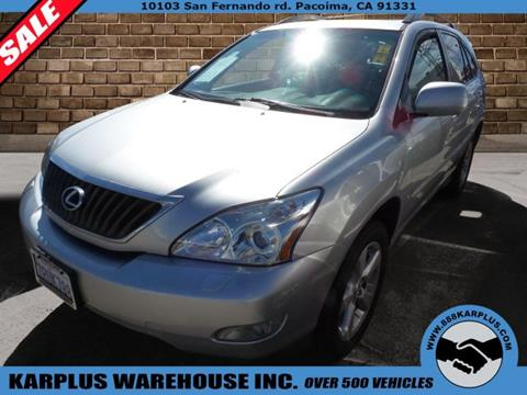 2008 Lexus RX 350 for sale in Pacoima, CA