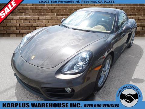 2014 Porsche Cayman for sale in Pacoima, CA