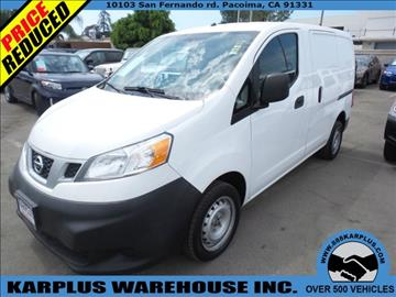 2013 Nissan NV200 for sale in Pacoima, CA