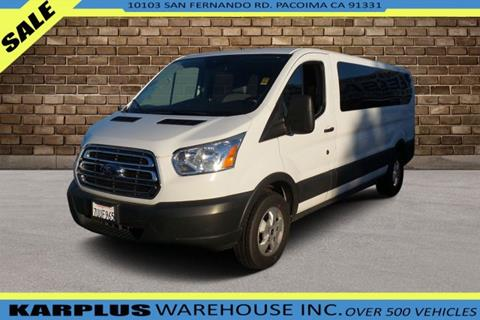 947d8babd1 2017 Ford Transit Passenger for sale in Pacoima