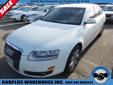 2005 Audi A6 for sale in Pacoima, CA