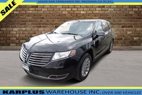 2017 Lincoln MKT Town Car for sale in Pacoima, CA