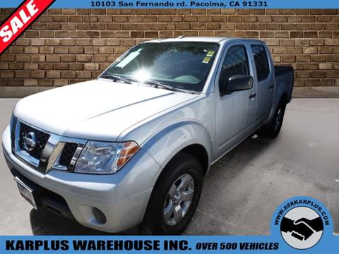 2013 Nissan Frontier for sale in Pacoima, CA