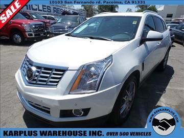 2015 Cadillac Srx For Sale California