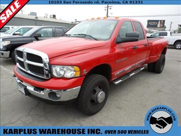 2005 Dodge Ram Pickup 3500 for sale in Pacoima, CA