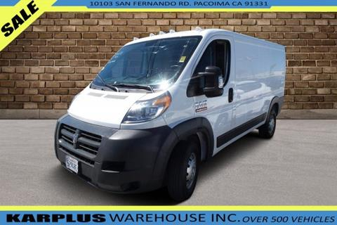 83c823cc96 2017 RAM ProMaster Cargo for sale in Pacoima