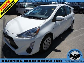 2016 Toyota Prius c for sale in Pacoima, CA