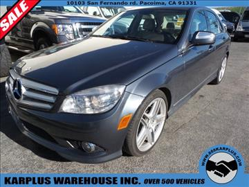 2009 Mercedes-Benz C-Class for sale in Pacoima, CA