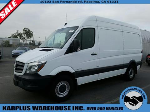 2015 Mercedes-Benz Sprinter Cargo for sale in Pacoima, CA