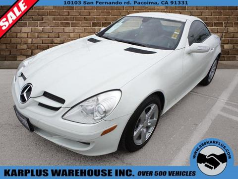 2008 Mercedes-Benz SLK for sale in Pacoima, CA