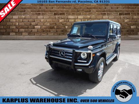 2015 Mercedes-Benz G-Class for sale in Pacoima, CA