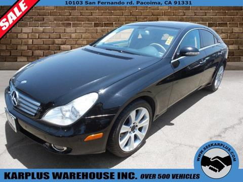 2008 Mercedes-Benz CLS for sale in Pacoima, CA