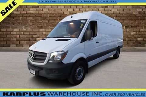 6c5a58a9ed Used Mercedes-Benz Sprinter Cargo For Sale in California ...