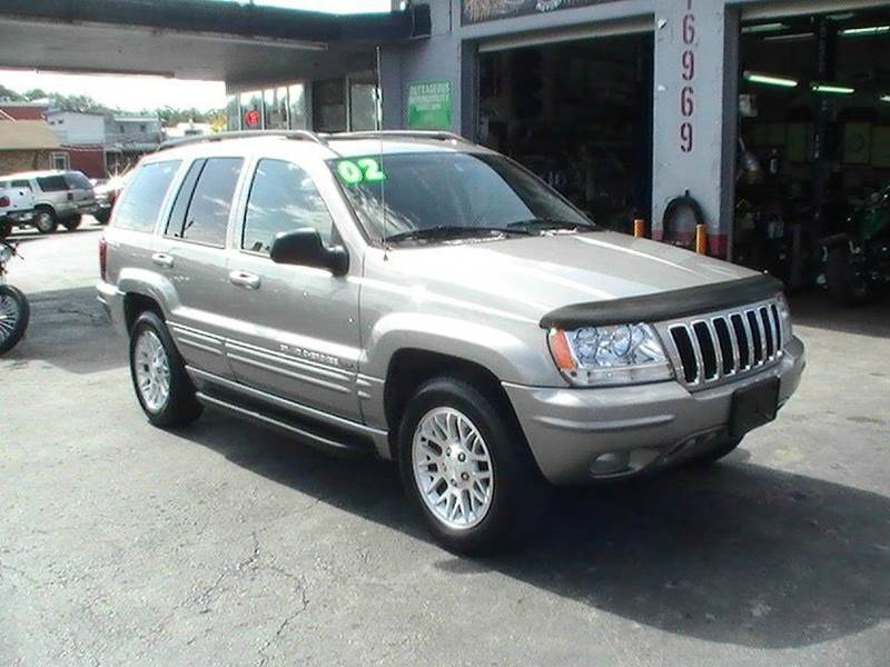 2002 Jeep Grand Cherokee Limited 4wd 4dr Suv In Bonner Springs Ks Midwest Motors 215 Inc
