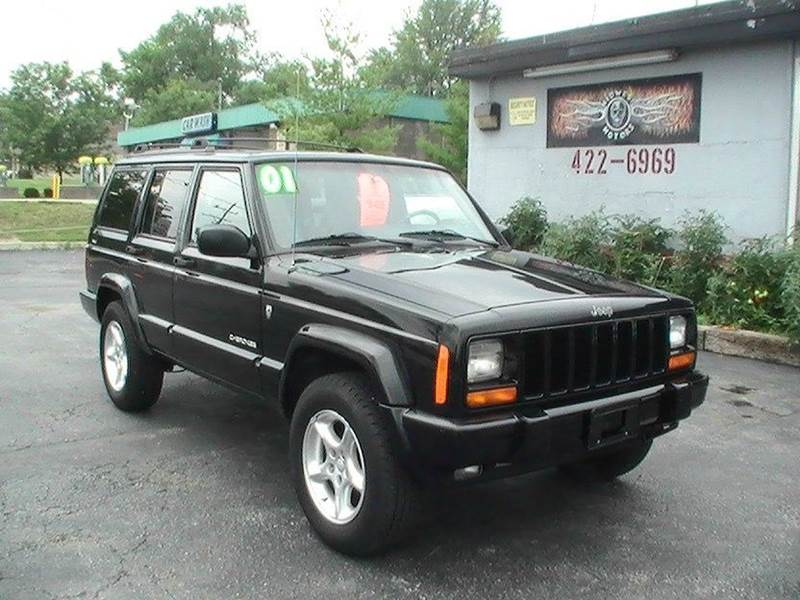 2001 Jeep Cherokee Sport 4dr 4wd Suv In Bonner Springs Basehor Bonner Springs Midwest Motors 215 Inc