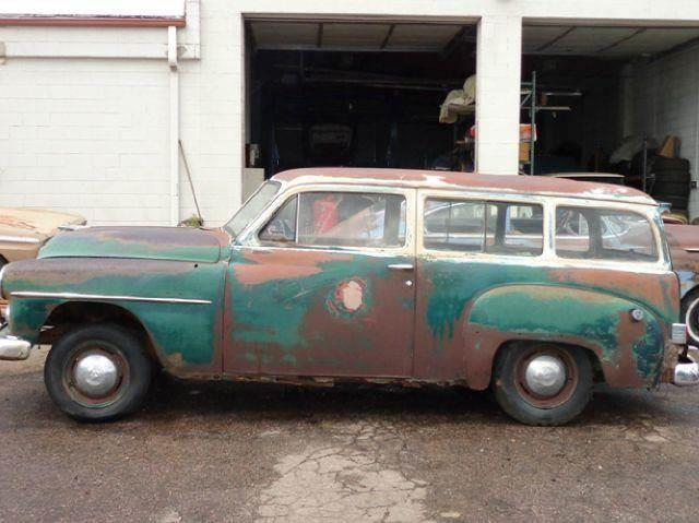 1951 plymouth 2 door wagon in penrose co pikes peak motor co for 1951 plymouth 2 door