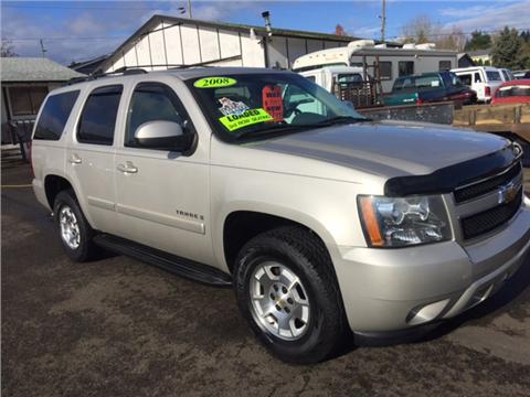Chevrolet Tahoe For Sale Oregon