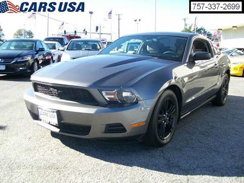 2010 ford mustang for sale virginia beach va. Black Bedroom Furniture Sets. Home Design Ideas