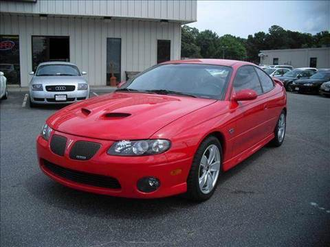 2005 pontiac gto for sale knoxville tn. Black Bedroom Furniture Sets. Home Design Ideas