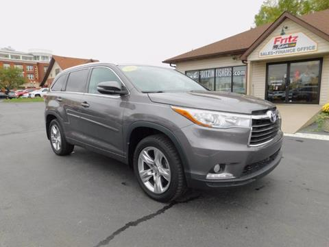 2014 Toyota Highlander for sale in Fishers, IN