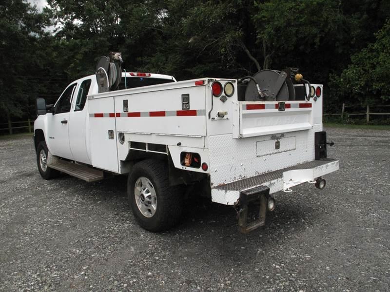 2012 Chevrolet Silverado 3500HD 4x4 Work Truck 4dr Extended Cab LB SRW - Stanley NC