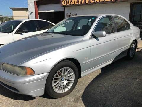 2002 BMW 5 Series for sale in Warren, MI