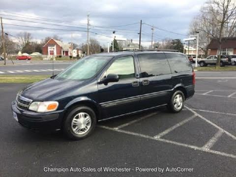 2002 Chevrolet Venture for sale in Winchester, VA