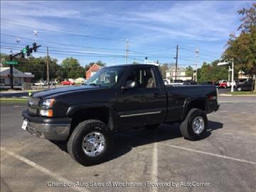 2004 Chevrolet Silverado 1500 for sale in Winchester, VA