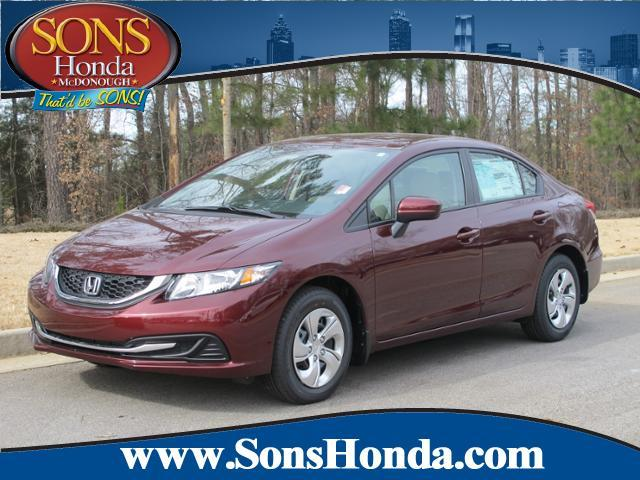 2014 Honda Civic for sale in MCDONOUGH GA