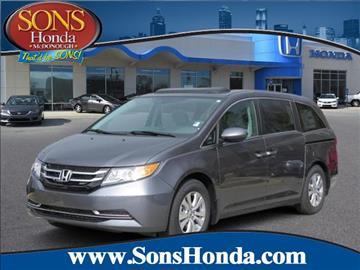 2016 Honda Odyssey for sale in Mcdonough, GA