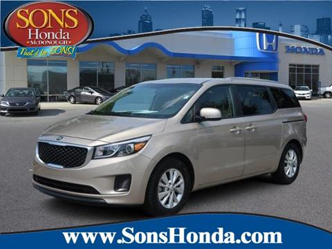 2016 Kia Sedona for sale in Mcdonough, GA