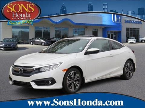 2017 Honda Civic for sale in Mcdonough, GA