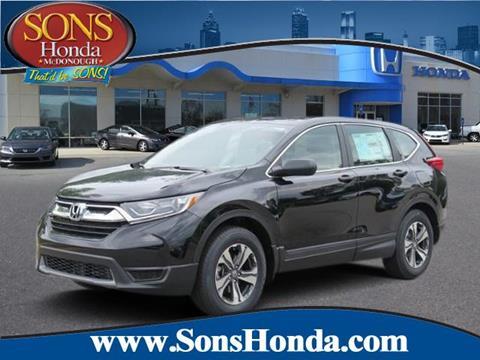 2017 Honda CR-V for sale in Mcdonough, GA