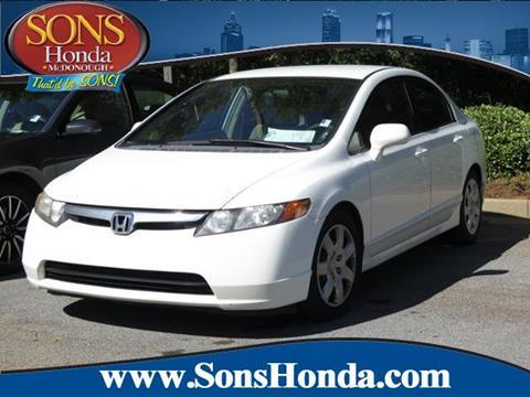 2006 Honda Civic for sale in Mcdonough, GA