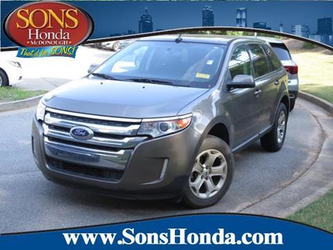 2013 Ford Edge for sale in Mcdonough, GA