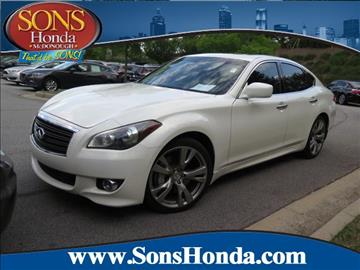 2012 Infiniti M56 for sale in Mcdonough, GA