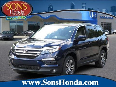 2017 Honda Pilot for sale in Mcdonough, GA