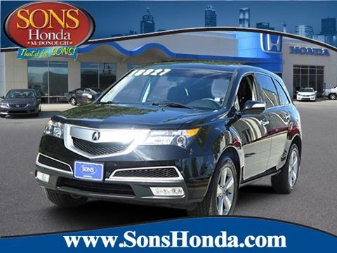 2013 Acura MDX for sale in Mcdonough, GA