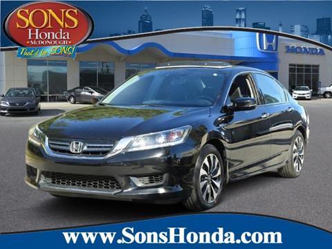 2014 Honda Accord Hybrid for sale in Mcdonough, GA