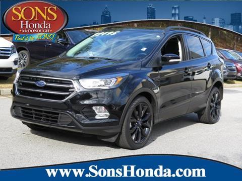 2017 Ford Escape for sale in Mcdonough, GA