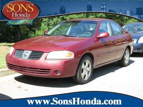 2004 Nissan Sentra for sale in Mcdonough, GA